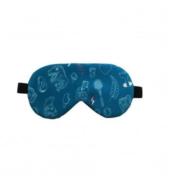 Маска для сна Machka Sala4ka Turquoise