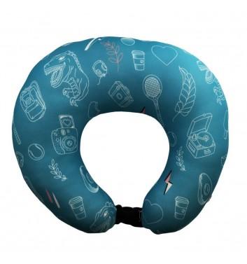 Дорожная подушка Machka Sala4ka Turquoise