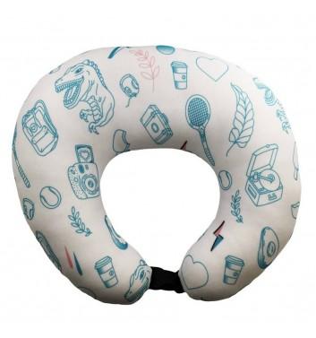Travel pillow Machka Sala4ka White
