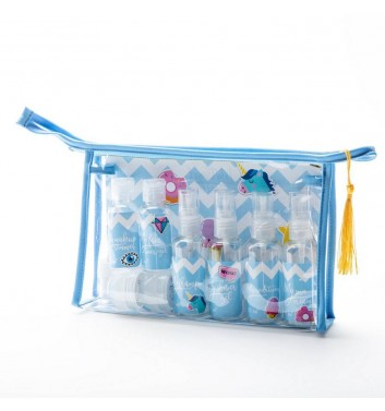 Beautician for travel My travel pack Blue