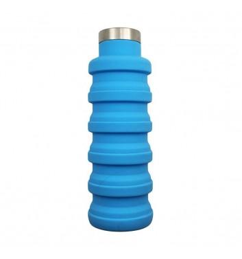 Раскладная бутылка для воды Leaf Blue