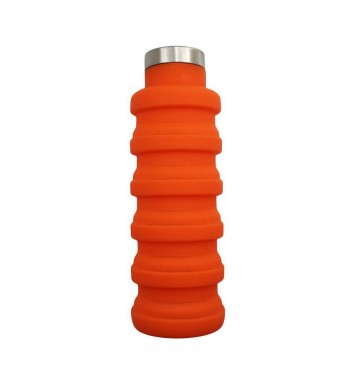 Transformer Bottle for water Leaf Orange
