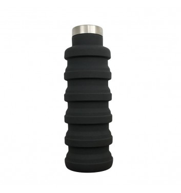 Transformer Bottle for water Leaf Black