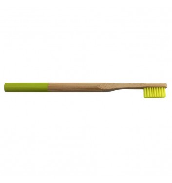 Bamboo toothbrush Leaf Light Green