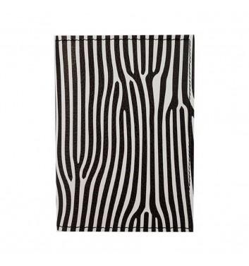 Обложка на паспорт Hiver Books Zebra