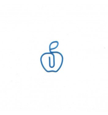 Paperclip Cuters Apple Blue