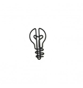 Paperclip Cuters Bulb Black