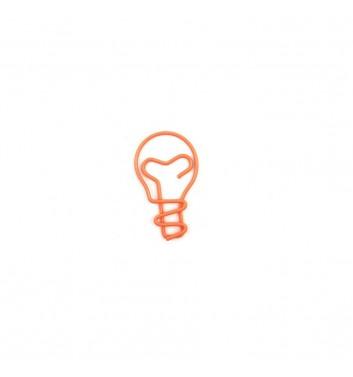 Paperclip Cuters Bulb Orange