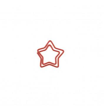 Скріпка Cuters Star Red