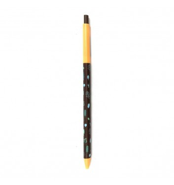 Ручка автоматическая Cuters Brown and Yellow