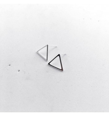 Сережки Argent jewellery Thin triangles