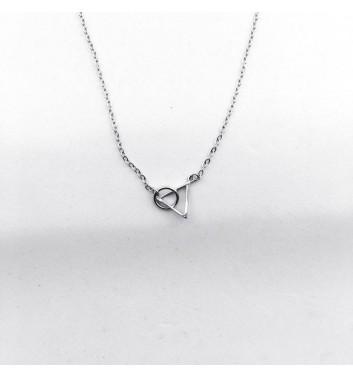 Підвіска Argent jewellery Triangle and circle