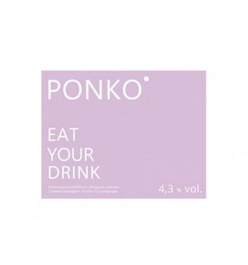 Алкогольные конфеты Ponko sweets Wine 12 конфет