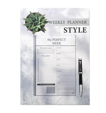 Еженедельник-планер отрывной Lifeflux A5 My perfect week Style