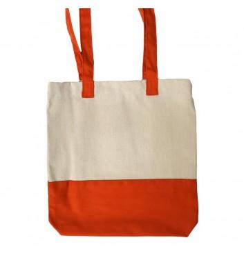 Eco-bag Leaf Orange bottom