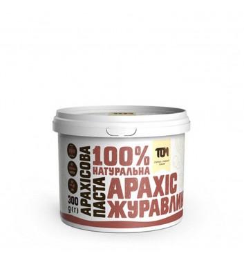 Арахісова паста з журавлиною 300 г