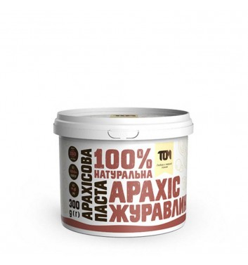 Peanut Butter with a cranberry 300g