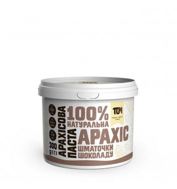 Арахісова паста з шматочками шоколаду 300 г