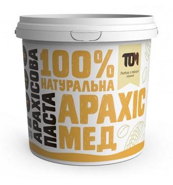 Арахісова паста з медом 1000 г