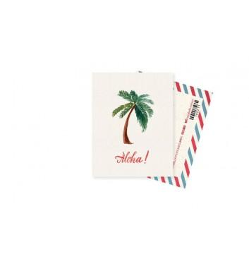 Мини-открытка Mirabella postcards Aloha
