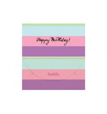 Конверт для грошей Mirabella postcards Happy birthday
