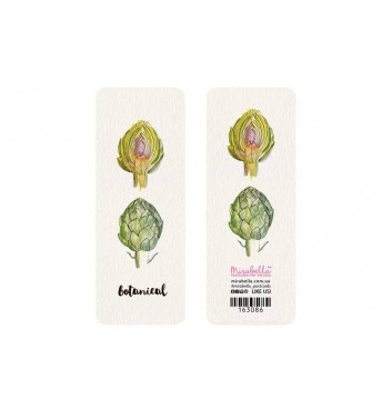 Закладка Mirabella postcards Botanical