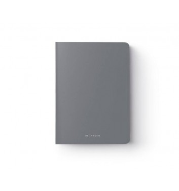 Notebook Daily notes Grey