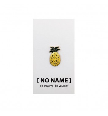Значок No name Pineapple Yellow