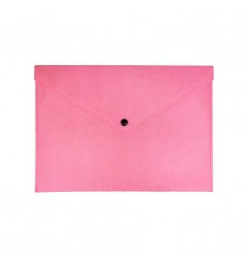 Папка для документов Cuters Felt Pink