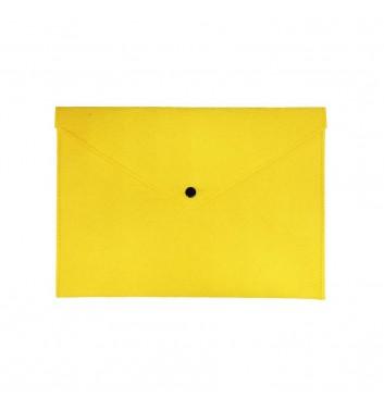 Папка для документов Cuters Felt Yellow