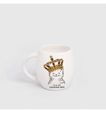 Дитяча чашка Orner Store Кошеня в короні