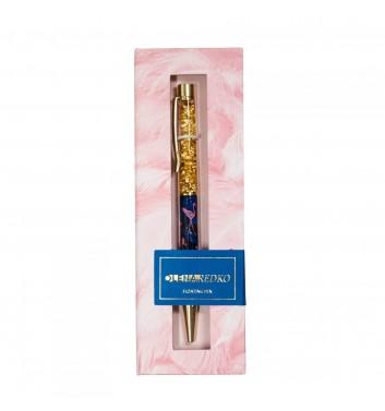 """Ручка кулькова """"Tropical Flamingo"""" в подарунковій коробці Olena Redko"""