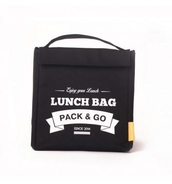 Lunch-bag Pack and Go M Черный