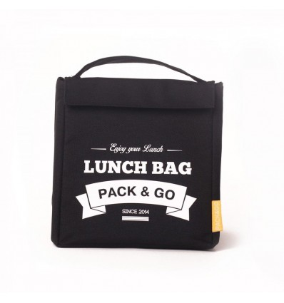 Lunch-bag Pack and Go M Чорний