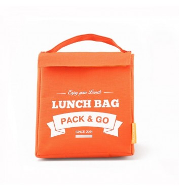 Lunch-bag Pack and Go M Помаранчевий