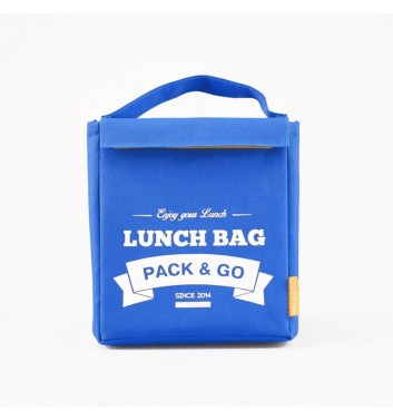 Lunch-bag Pack and Go M Блакитний