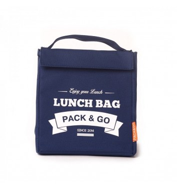 Lunch-bag Pack and Go M Синій