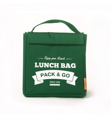 Lunch-bag Pack and Go M Зеленый