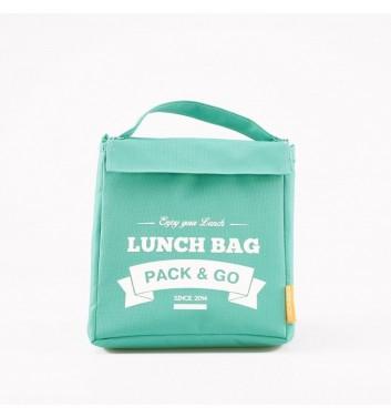 Lunch-bag Pack and Go M Мятный