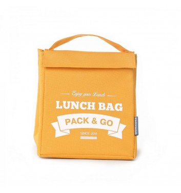 Lunch-bag Pack and Go M Жовтий