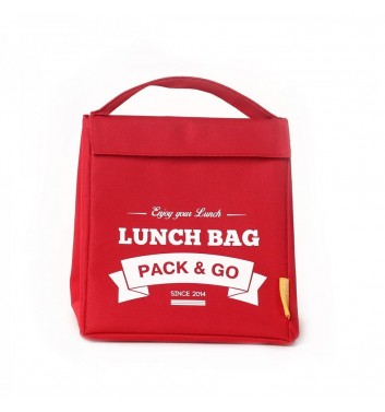 Lunch-bag Pack and Go M Червоний
