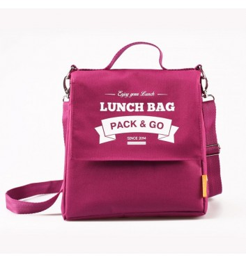 Lunch-bag Pack and Go L+ Ягодный
