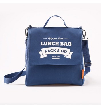 Lunch-bag Pack and Go L+ Синий