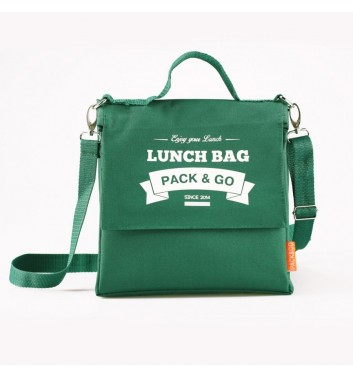 Lunch-bag Pack and Go L+ Зелений