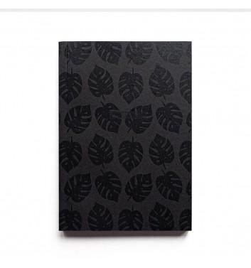 Скетчбук Kraftsketchbook Black Leaves