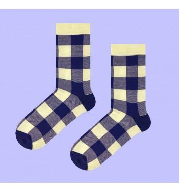 Шкарпетки Sox Tartan Blue Beige