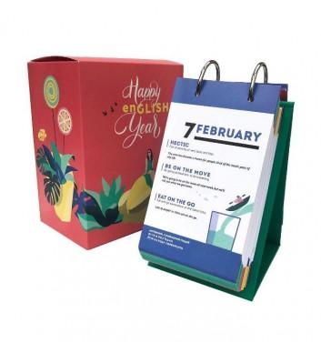 Англійський календар Gifty Happy english year