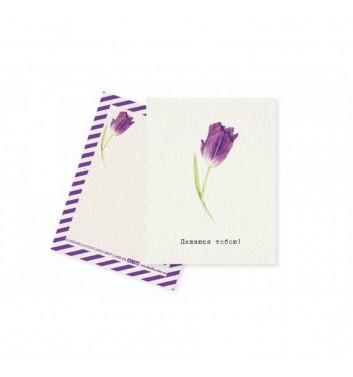 Мини-открытка Mirabella postcards Горжусь тобой