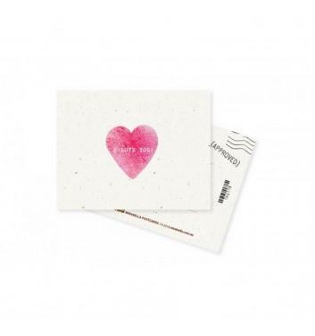 Міні-листівка Mirabella postcards I love you