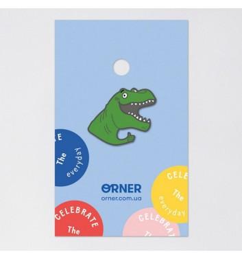 Значок Orner Store Dino likes